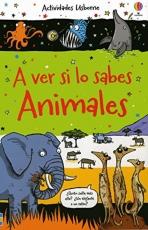 A Ver Si Lo Sabes Animales