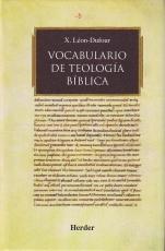 Vocabulario De Teologia Biblica